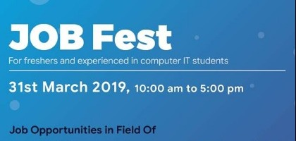 The Biggest IT Job Fest at the Agile Academy | Event in Ahmedabad | Townscript