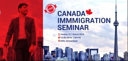 Biggest FREE seminar on Canada Immigration at AMA, Ahmedabad | Event in Ahmedabad | Townscript