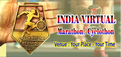 India Virtual Marathon - Get India's Biggest Medal | Event in Ahmedabad | Townscript