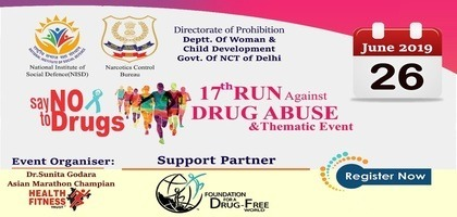 Run against Drug Abuse Tickets by Health Fitness Trust, 26 Jun, 2019