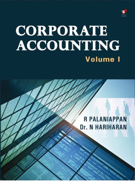 Corporate Accounting Volume I