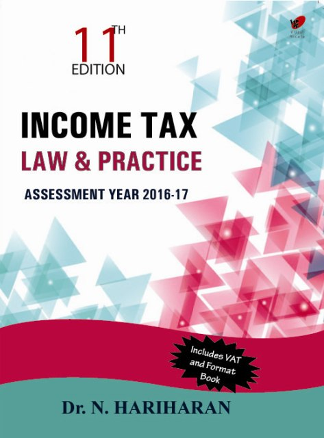 Income Tax law and practice, 11e
