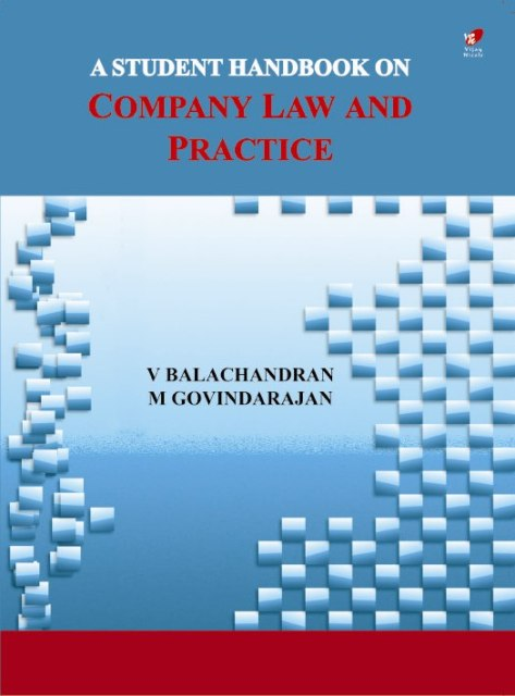 A Student Handbook of Company Law and Practice
