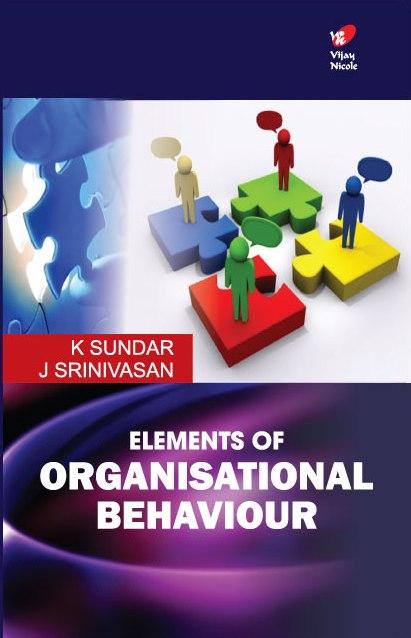 Elements of Organisational Behaviour
