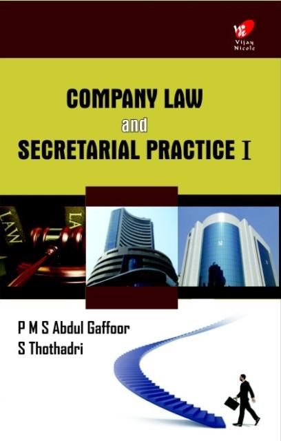 Company law and Secretarial Practice — I