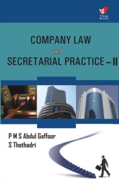 Company law and Secretarial Practice — II