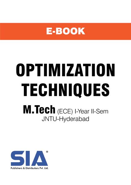 Optimization Techniques (JNTU-H)