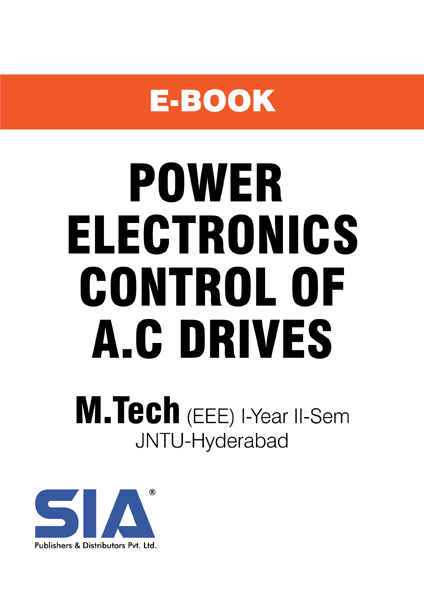 Power Electronic Control of A.C Drives (JNTU-H)