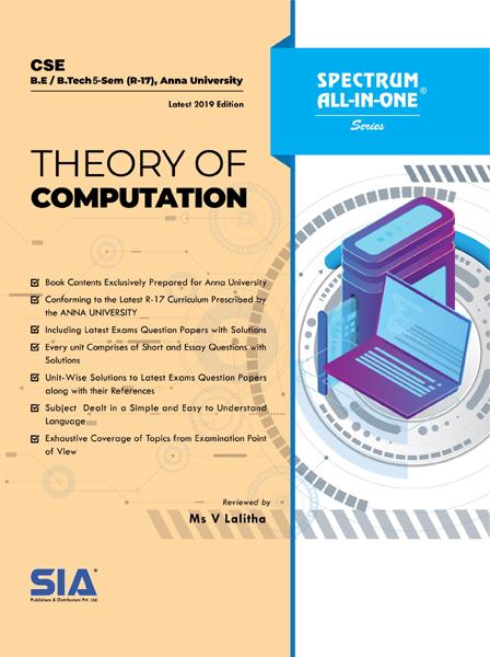 Theory of Computation (Anna Univ)