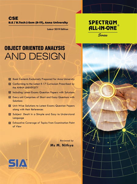 Object Oriented Analysis and Design (Anna Univ)