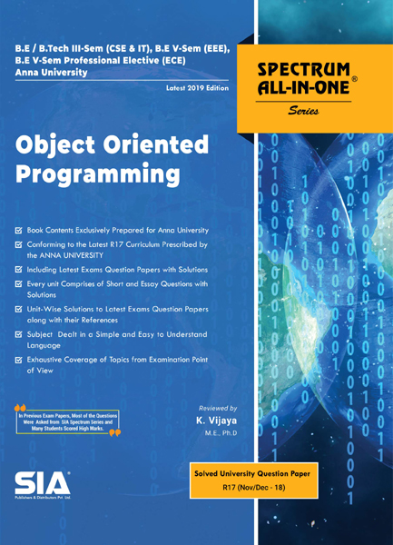 Object Oriented Programming (Anna Univ)
