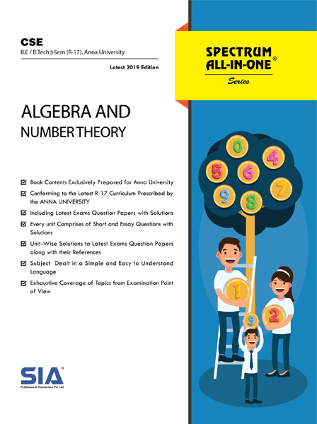 Algebra and Number Theory (Anna Univ)