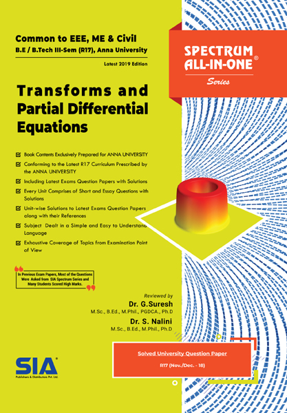 Transforms and Partial Differential Equations (Anna Univ)