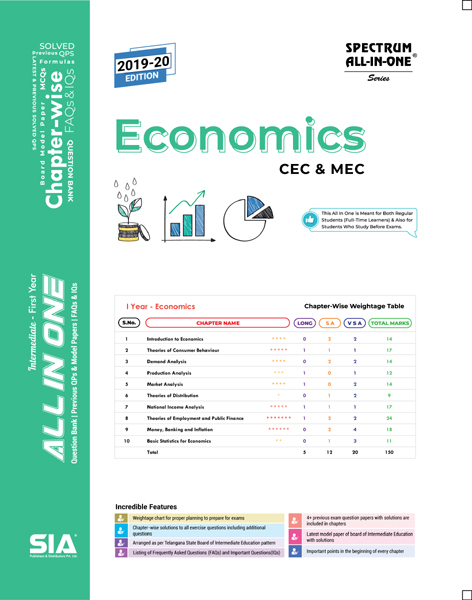 Economics (First Year)