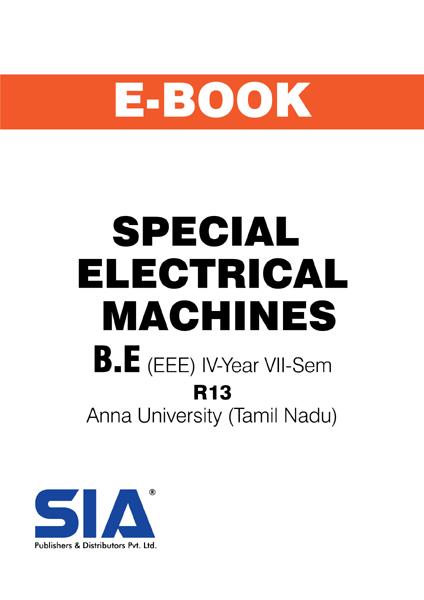 Special Electrical Machines (Anna Univ)