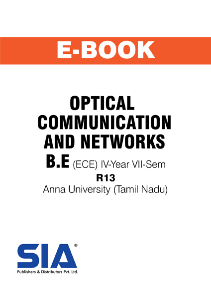 Optical Communication and Networks (Anna Univ)