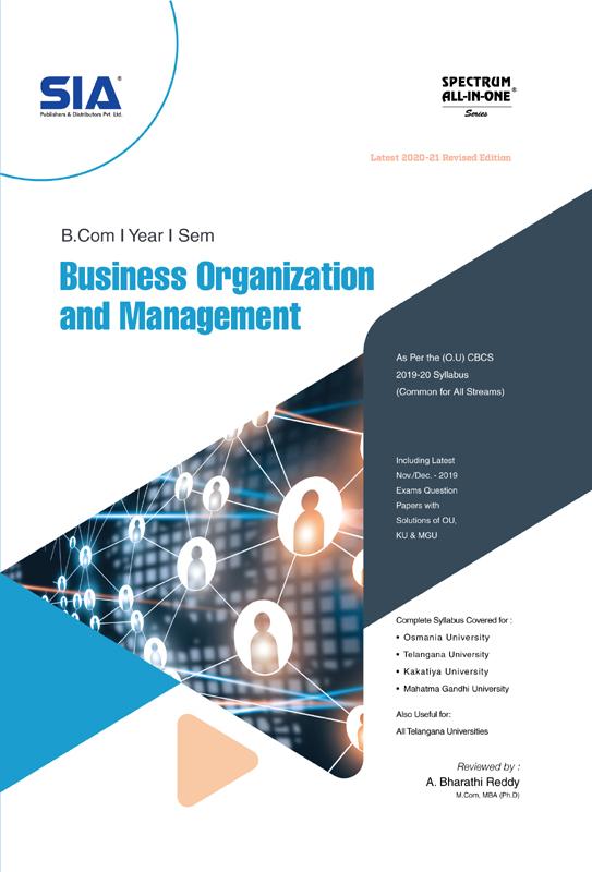 Business Organization and Management (O.U)