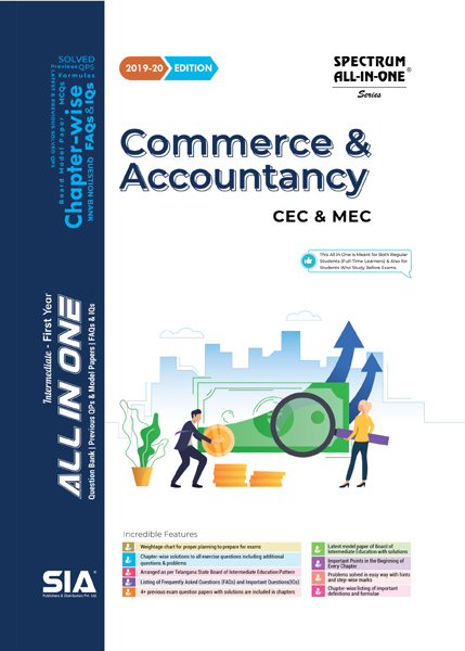 Commerce and Accountancy (First Year)