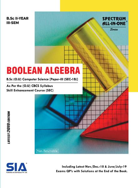 Boolean Algebra (Computer Science Paper-III)