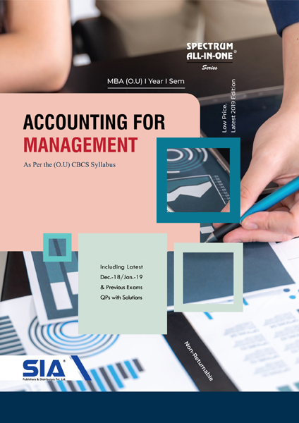 Accounting for Management (O.U)