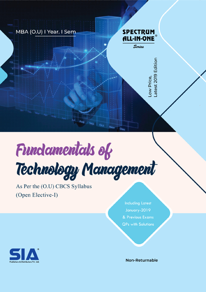 Fundamentals of Technology Management (O.U)