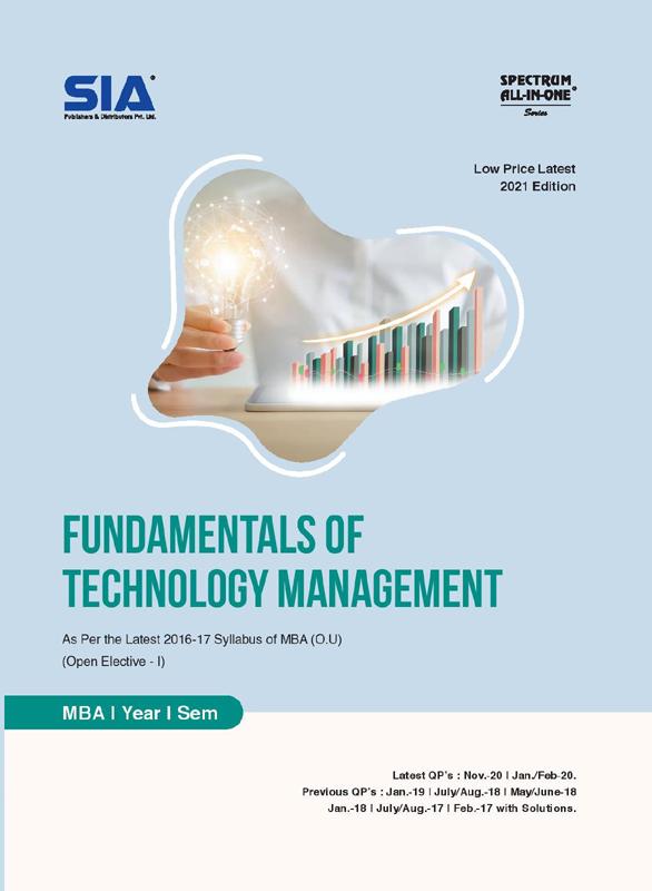 Fundamentals of Technology Management (O.U)