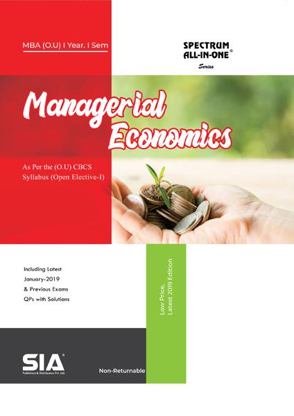 Managerial Economics (O.U)