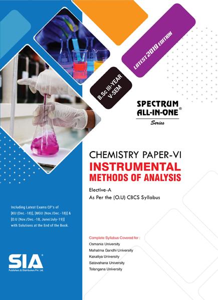 Instrumental Methods of Analysis (Chemistry Paper-VI)