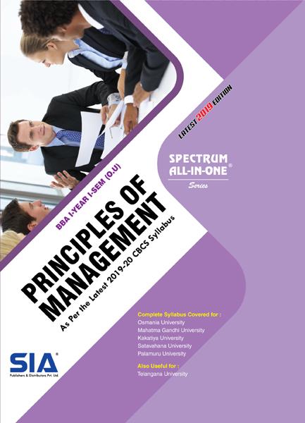 Principles of Management (O.U)