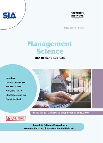 Management Science (O.U)