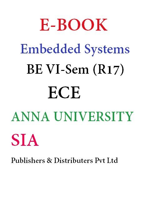 Embedded Systems (Anna Univ)