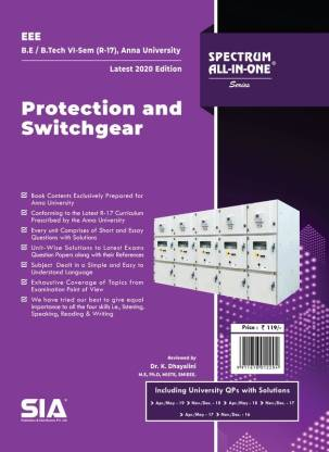Protection and Switchgear (Anna University)