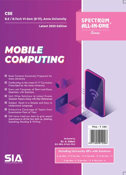 Mobile Computing (Anna University)