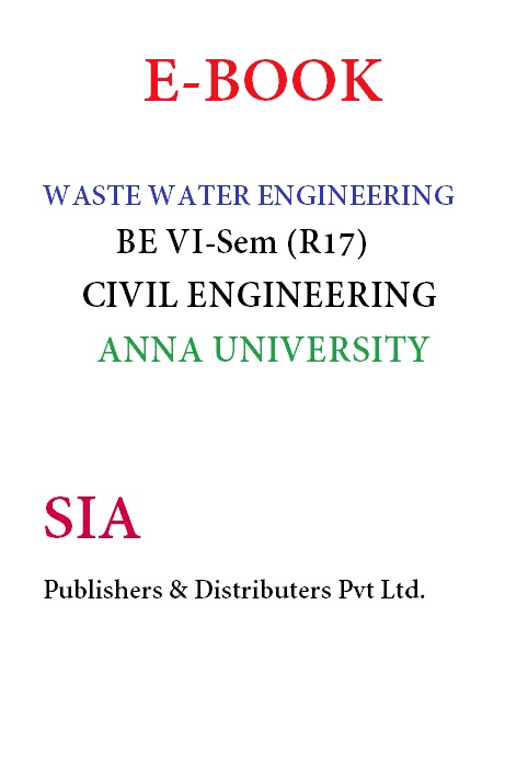 Waste Water Engineering (Anna Univ)