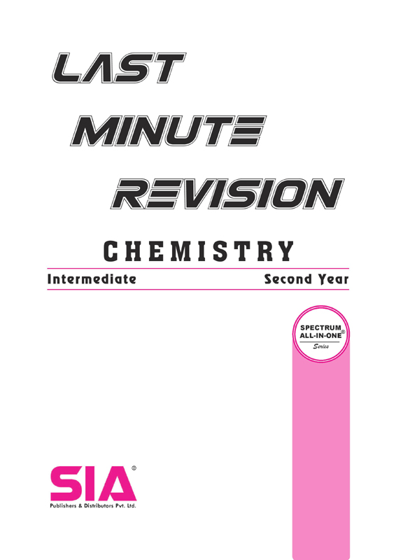 CHEMISTRY II-YEAR [LAST MINUTE REVISION]