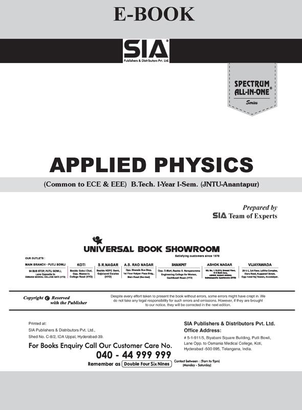 Applied Physics (JNTU-A)