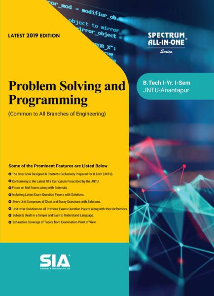 Problem Solving and Programming (JNTU-A)