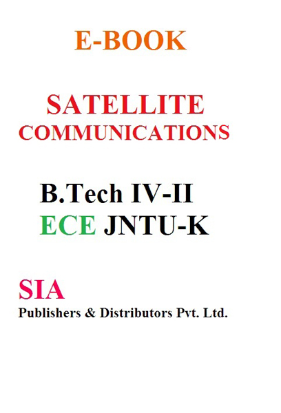 Satellite Communications (JNTU-K)