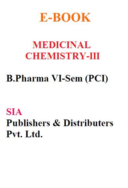 Medicinal Chemistry-III (PCI)