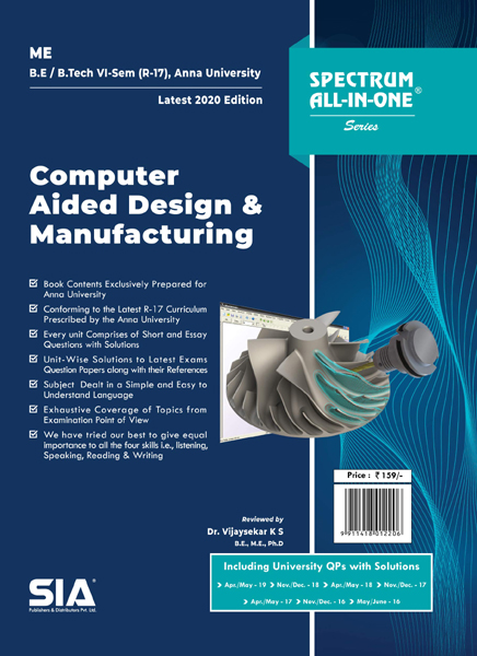 Computer Aided Design and Manufacturing (Anna University)