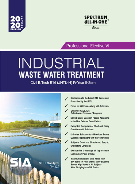 Industrial Waste Water Treatment (PE-VI)