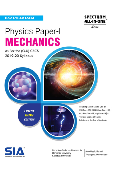 Mechanics (Physics Paper- I)