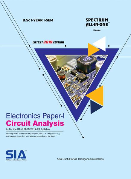 Circuit Analysis (Electronics Paper- I)