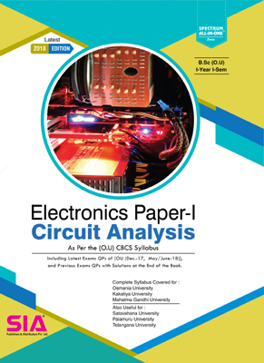 Circuit Analysis (Electronics Paper- I)