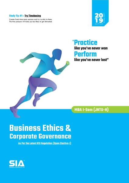 Business Ethics and Corporate Governance (JNTU)