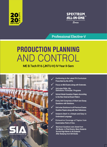 Production Planning and Control (JNTU-H)