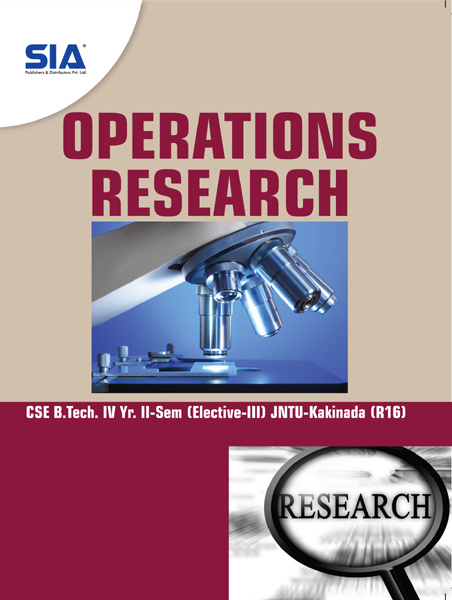 Operations Research (JNTU-K) R16