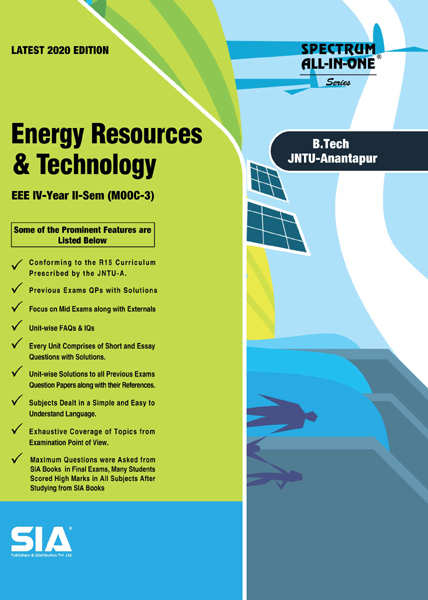 Energy Resources and Technology (JNTU-A)