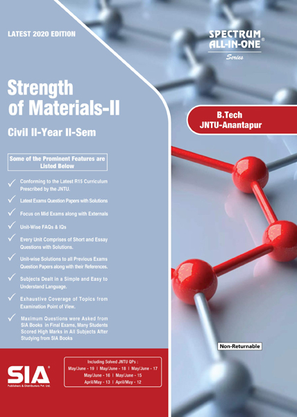 Strength of Materials-II (JNTU-A)