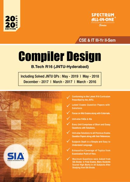 Compiler Design (JNTU-H)